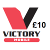 Victory Mobile £10 Topup Voucher
