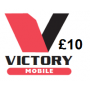 Victory Mobile £10 Topup Voucher