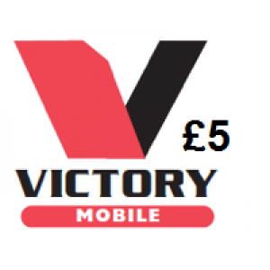 Victory Mobile £5 Topup Voucher