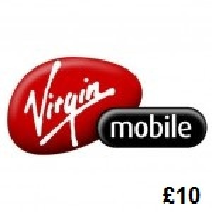 Virgin Mobile £10 Topup Voucher