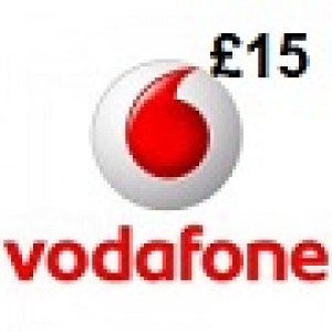 Vodafone £15 Topup Voucher