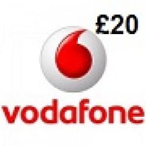 Vodafone £20 Topup Voucher